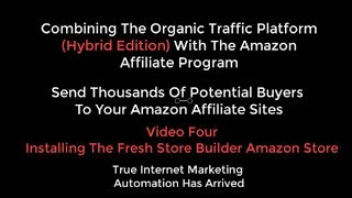 OTP Combining Organic Traffic Platform With Amazon Affiliate Video 4