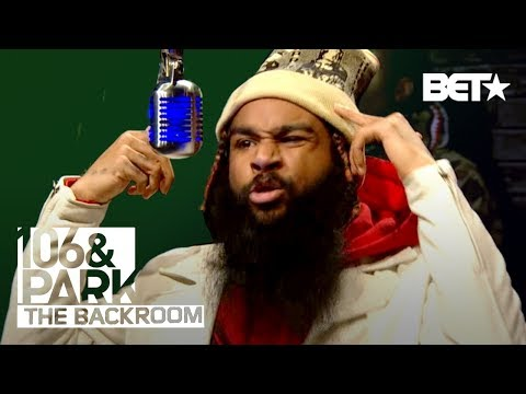 Flatbush Zombies in the 106 & Park BET Backroom!