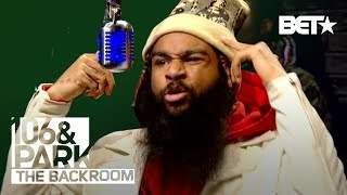 Flatbush Zombies in the Backroom | 106 & Park Backroom