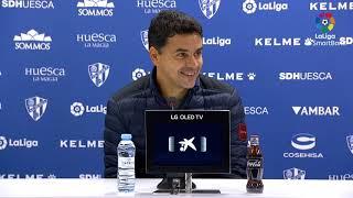 Rueda de prensa de  Míchel tras el SD Huesca vs Real Oviedo (3-1)