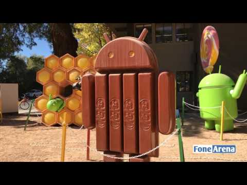Google Campus Tour - Android Versions from Cupcake  to Nougat!