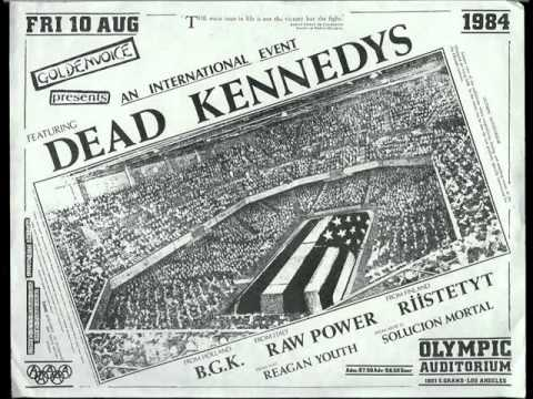 You tube dead kennedys fuck off
