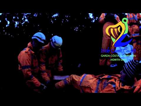Exercise: Lower Limb Fracture. Irish Coast Guard, Howth Unit