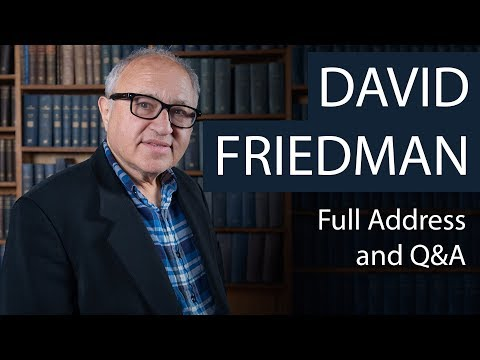 David Friedman | Full Address and Q&A | Oxford Union