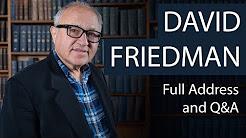 David Friedman | Full Address and Q&A | Oxford Union
