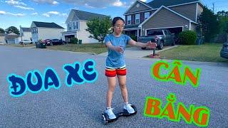 Vlog 6 || LẦN ĐẦU ĐI XE CÂN BẰNG HOVERBOARD VÀ CÁI KẾT || Cuộc Sống Mỹ - North Carolina