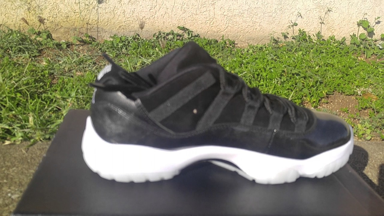 31f846d715b Air Jordan 11 low Barons Review - YouTube