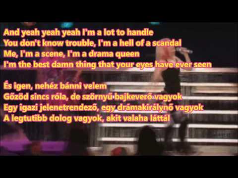 Avril Lavigne - The Best Damn Thing (HQ-HD lyrics + Hungarian translation)