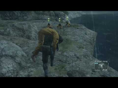 METAL GEAR SOLID V: GROUND ZEROES Hard S Rank simple and less risky casual playstyle