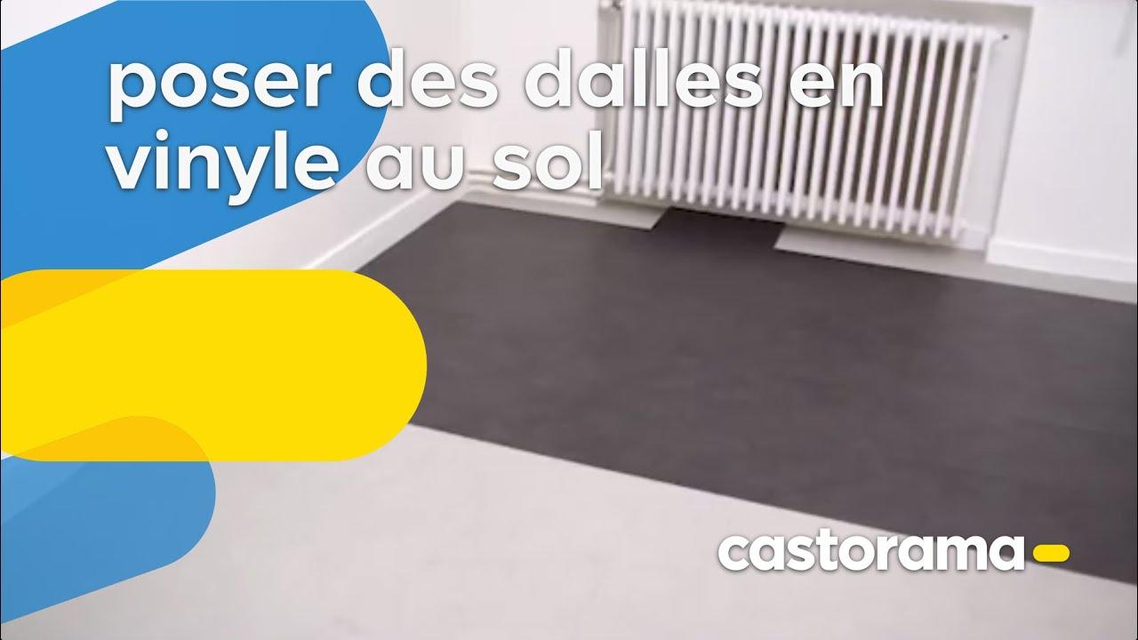 Poser Des Dalles En Vinyle Au Sol Castorama Youtube