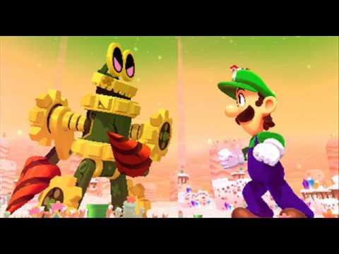 Mario & Luigi Dream Team Music - Size Up Your Enemy