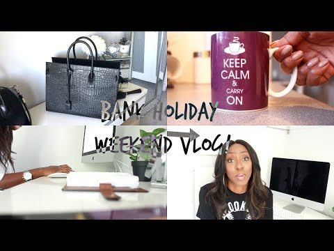 VLOG: New Venture? Bank Holiday Weekend, Nights Out, BBQ in The Park & New Handbag Reveal
