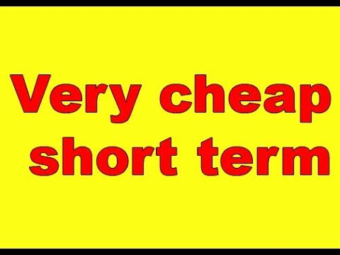 Very cheap short term car insurance uk