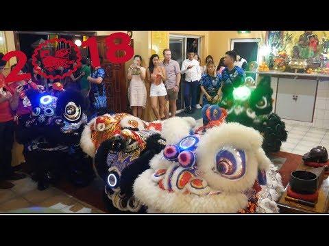 2018 Lion Dance CNY Eve Chùa Chánh Giác Temple - CCC Western Australia 西澳華人公會