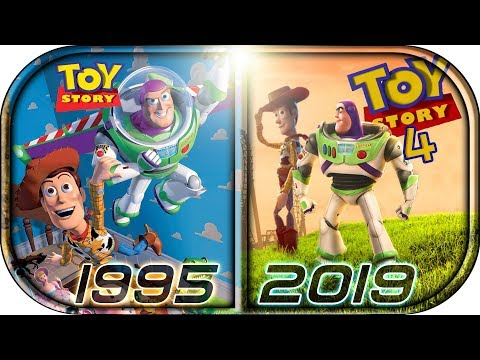 EVOLUTION of TOY STORY Movies Ads Cartoons 1995-2019🙉 Toy Story 4  Teaser Trailer 2019