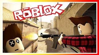 CS:GO DANS ROBLOX ! (Roblox)