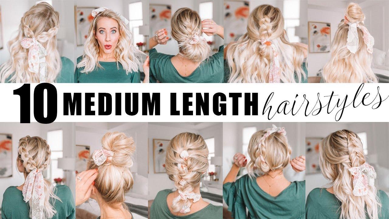 Ten Medium Length Hairstyles For Spring Twist Me Pretty