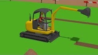 Excavator Mini, Trucks | Street Vehicles | Construction Of The Airport