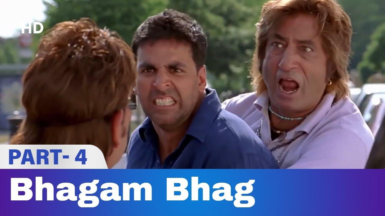 Download Bhagam Bhag (2006) -  Part 4   Akshay Kumar, Govinda, Paresh Rawal   Bollywood Comedy Movie
