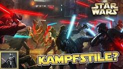 Star Wars: Alle Jedi und Sith Kampfstile - Star Wars Basis