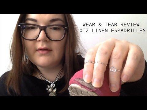 Wear & Tear Review: OTZ Linen Espadrilles