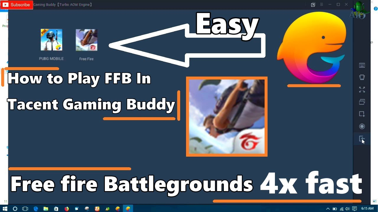 free fire pc tencent gaming buddy