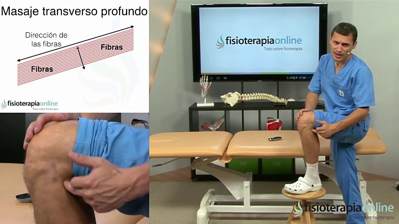 Tratamiento de la Rotura de ligamento lateral externo de rodilla con un auto masaje