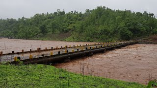 Purna River | Indian River | Gujarat | Saputara | Heavy rain | Monsoon | Wildlife Sanctuary | 2018