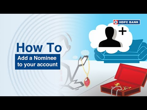 How to add a Nominee to your accounts