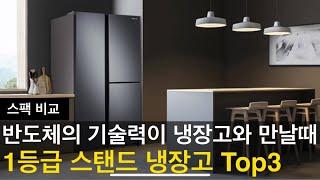 2021년 스탠드 냉장고 인기순위 및 가격, 특징 비교