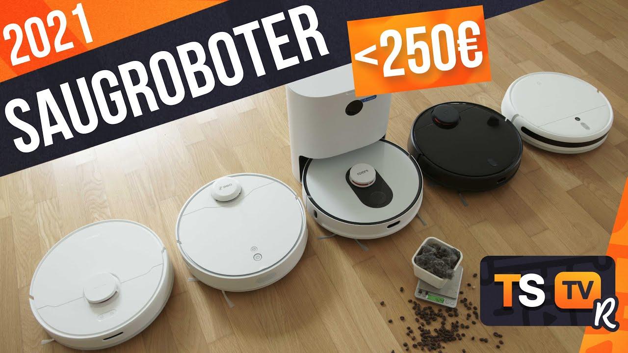 SAUGROBOTER TEST 2021 (Günstig) ► Die TOP 5 besten Staubsauger Roboter unter 250€ im Vergleich