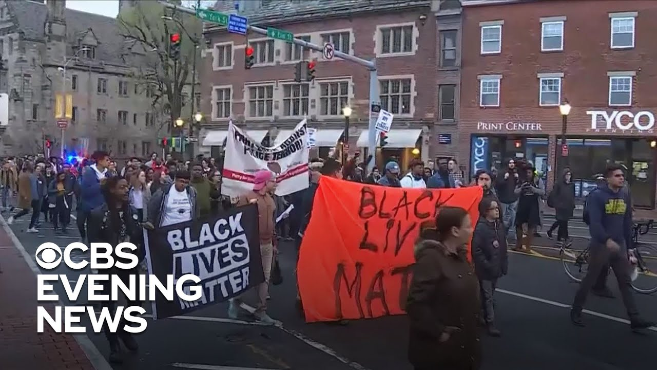 Shooting near Yale campus leads to almost a week of protests