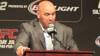 Dana White: UFC 162 Post-Fight Press Conference
