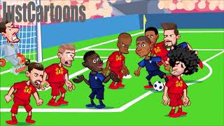 🏆France v Belgium  ⚽ World Cup highlights 🏆
