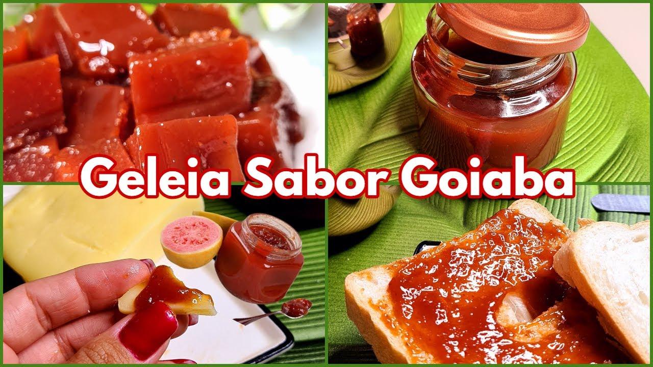 RECEITA GELEIA DE GOIABADA