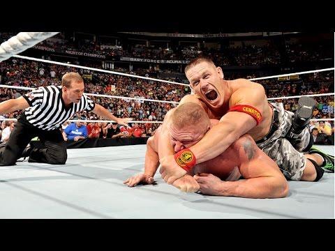 John Cena vs Vs Brock Lesnar  ||  Brock...
