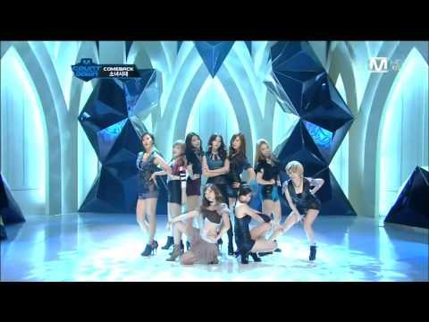 [HD] Intro+The Boys SNSD Comeback MNet M Countdown (No.1) 111027