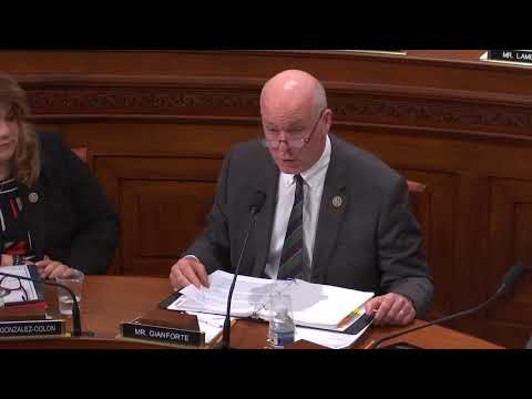 9.26.2018 Full Committee Markup 10:15 AM Rep. Gianforte
