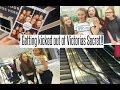VLOG: We got kicked out of Victoria's Secret!!??