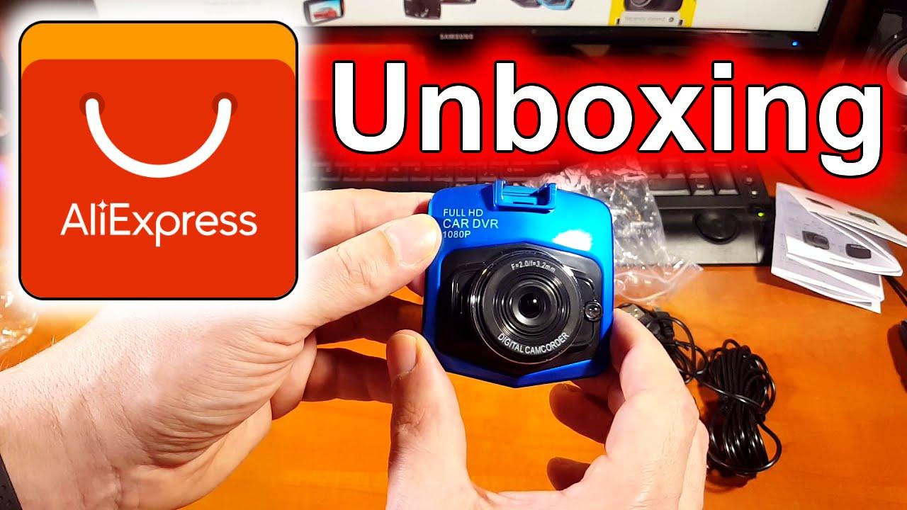 Levná kamera do auta | Aliexpress Unboxing | rozbalovačka česky | car camera V660