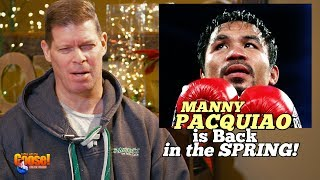 Manny Pacquiao is back in the Spring!