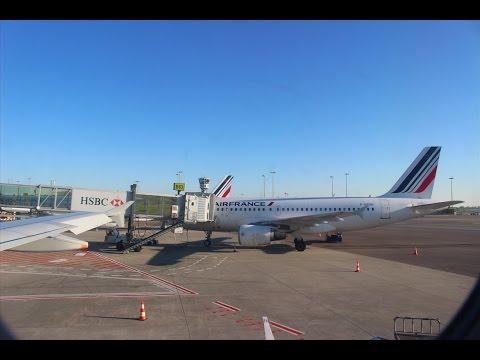 """FULL FLIGHT"" AIR FRANCE A319 ECONOMY LYON-TOULOUSE"