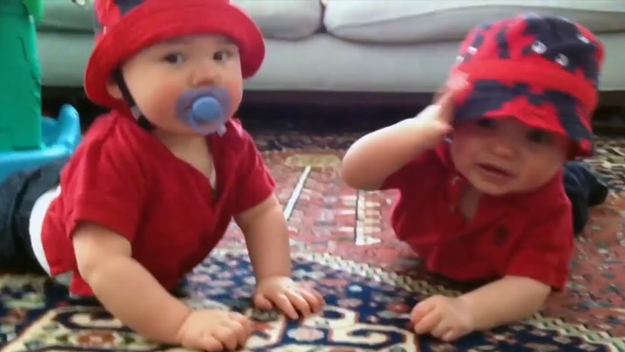 TRY NOT TO AWW - CUTEST BABIES Sharing Pacifiers