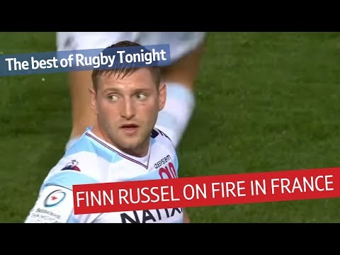 Finn Russell on fire with Racing 92 - Gregor Townsend impressed with Scotland star!
