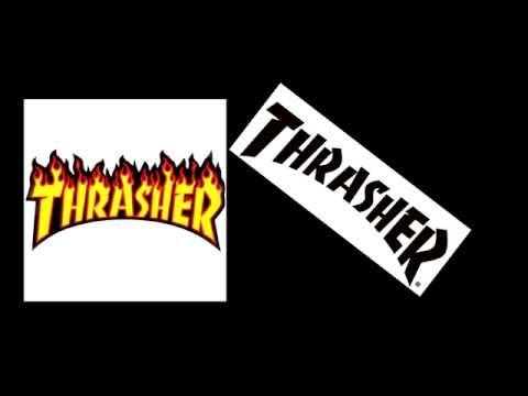 КАК СДЕЛАТЬ НАДПИСЬ THRASHER В PHOTOSHOP