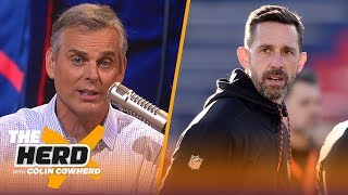 Colin Cowherd compares Kyle Shanahan to Belichick, lists top QBs to lead franchise | NFL | THE HERD