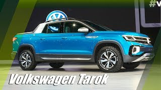 All-New Volkswagen Tarok Pre-production Pickup Truck Concept