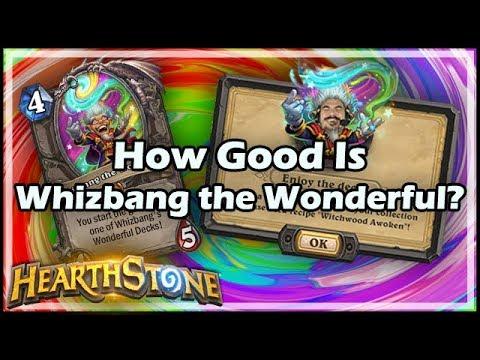 hearthstone whizbang the wonderful decks