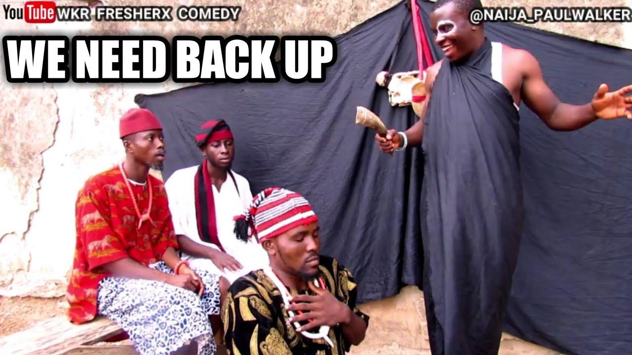 Download WE NEED BACK UP (wkr fresherx comedy) #markangelcomedy #samspedy #brodashaggi #xploitcomedy