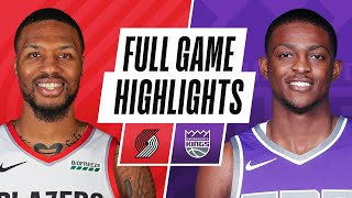TRAIL BLAZERS at KINGS | FULL GAME HIGHLIGHTS | January 13, 202
